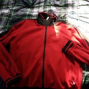 Nike track jacket size medium